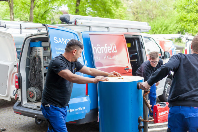 Schmitter Sanitaer Heizung Monteur Shk Klimatechnik Bergisch Gladbach Schoenfeld